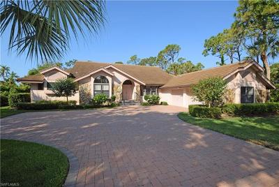 Bonita Springs Single Family Home For Sale: 3953 Woodlake Dr