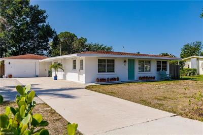 Bonita Springs Single Family Home Pending With Contingencies: 74 7th St