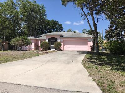 Fort Myers Single Family Home Pending With Contingencies: 9193 Shaddock Rd E