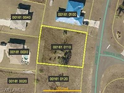 Fort Myers Residential Lots & Land For Sale: 810 Unger Ave