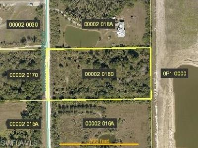 Estero Residential Lots & Land For Sale: 19851 Burgundy Farms Rd
