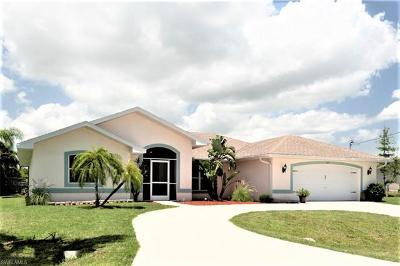 Cape Coral Single Family Home For Sale: 831 SW 52nd St