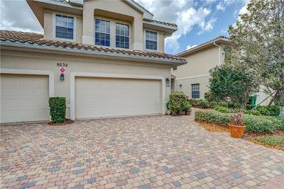 Naples Condo/Townhouse Pending With Contingencies: 8134 Saratoga Dr #2301