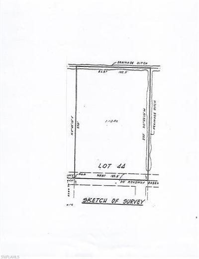 Bonita Springs Residential Lots & Land For Sale: 12284 Casals Ln