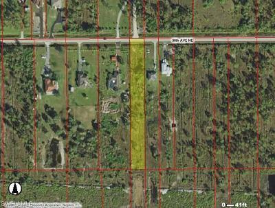 Naples Residential Lots & Land Pending With Contingencies: 56th Ave NE