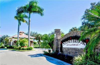Fort Myers Single Family Home For Sale: 12722 Ivory Stone Loop