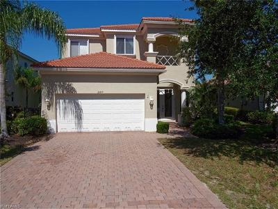 Estero Single Family Home For Sale: 21810 Sunset Lake Ct