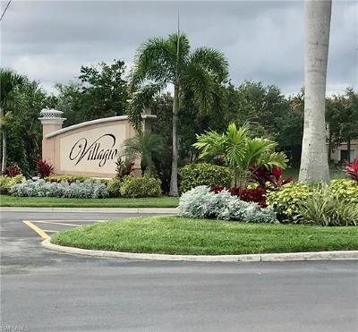 Estero Condo/Townhouse For Sale: 10001 Villagio Gardens Ln #105