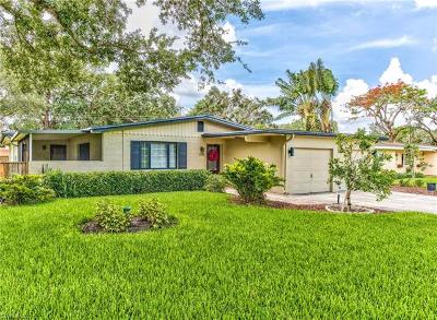 Fort Myers Single Family Home Pending With Contingencies: 1218 Morningside Dr