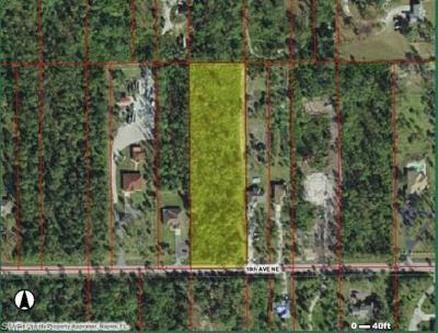 Naples Residential Lots & Land Pending With Contingencies: 18th Ave NE