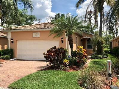 Naples Single Family Home For Sale: 15297 Cortona Way