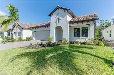 Fort Myers Single Family Home For Sale: 7614 Cypress Walk Drive