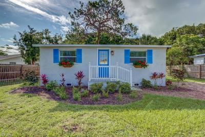 Fort Myers Single Family Home Pending With Contingencies: 13061 Caribbean Blvd