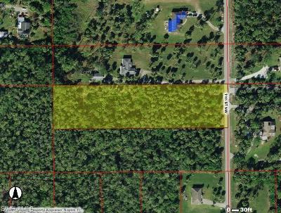 Naples Residential Lots & Land For Sale: 11th St NW