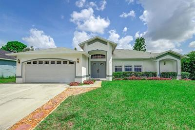 Fort Myers Single Family Home Pending With Contingencies: 9135 Caloosa Rd