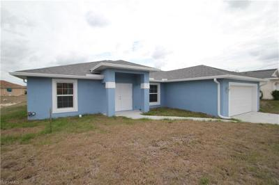 Lehigh Acres Single Family Home Pending With Contingencies: 3411 35th St SW