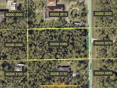 Bonita Springs Residential Lots & Land For Sale: 24300 Rodas Dr