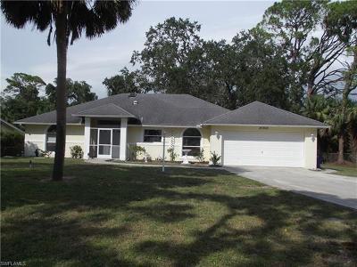 Bonita Springs Single Family Home For Sale: 27303 Elwood Dr