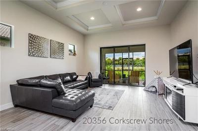 Estero Single Family Home For Sale: 20356 Corkscrew Shores Blvd