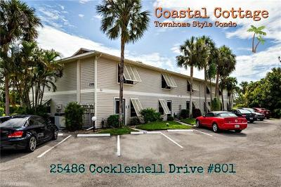 Bonita Springs Condo/Townhouse For Sale: 25486 Cockleshell Dr #801