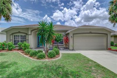 Fort Myers Single Family Home For Sale: 17501 Stepping Stone Dr