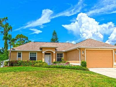 Fort Myers Single Family Home Pending With Contingencies: 18558 Wisteria Rd