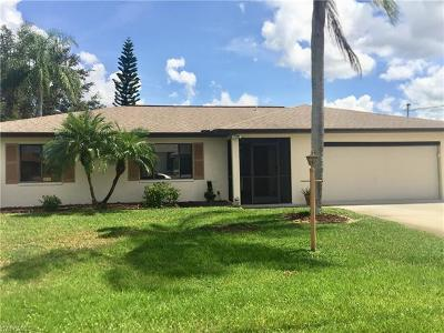 Fort Myers FL Single Family Home For Sale: $242,000