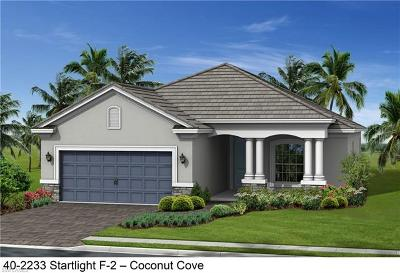 Fort Myers Single Family Home For Sale: 19845 Coconut Harbor Cir