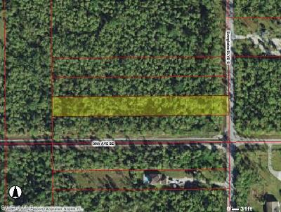 Collier County Residential Lots & Land For Sale: Everglades Blvd. S.