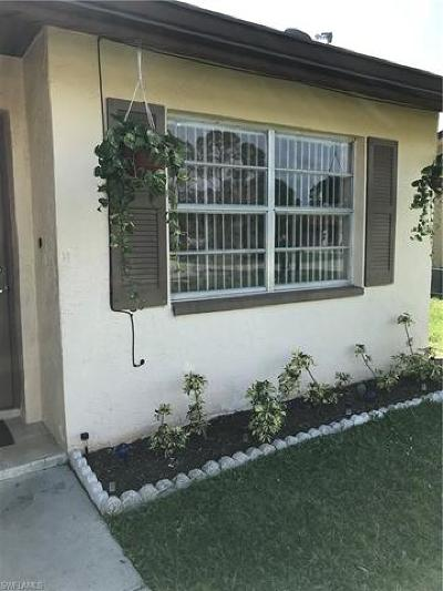 Fort Myers Multi Family Home Pending With Contingencies: 18243/247 Morgan Dr