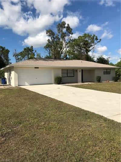 Fort Myers Single Family Home For Sale: 18238 Lee Rd