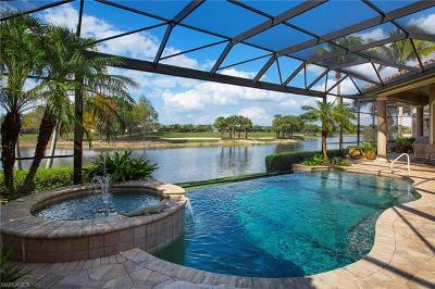 Estero Single Family Home Pending With Contingencies: 22290 Banyan Hideaway Dr
