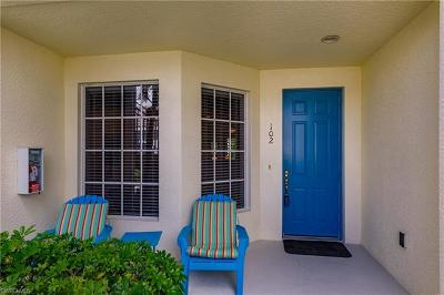 Fort Myers Condo/Townhouse For Sale: 14519 Abaco Lakes Dr #102