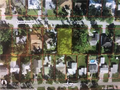 Naples Residential Lots & Land For Sale: 1064 Cypress Woods Dr