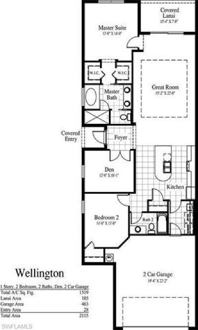 Bonita Springs Single Family Home Pending With Contingencies: 11076 St Roman Way E