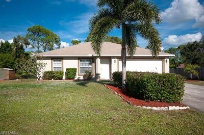 Fort Myers Single Family Home For Sale: 18433 Tulip Rd