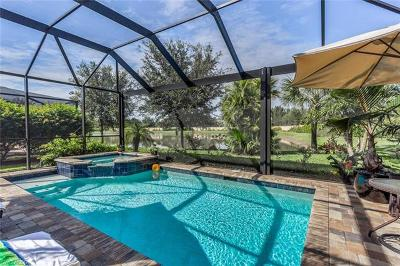 Bonita Springs Single Family Home Pending With Contingencies: 10515 Yorkstone Dr