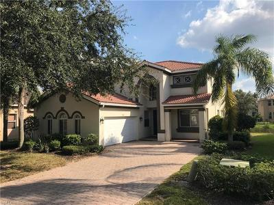 Estero Single Family Home Pending With Contingencies: 9758 Silvercreek Ct