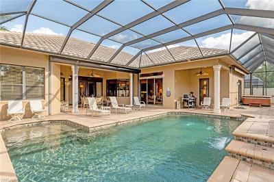 Naples Single Family Home Pending With Contingencies: 14636 Beaufort Cir