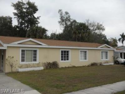 Fort Myers Multi Family Home Pending With Contingencies: 1353 Bradford Rd
