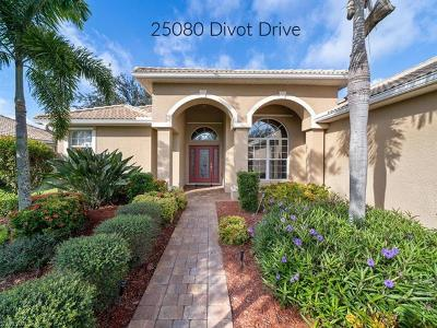 Bonita Springs Single Family Home For Sale: 25080 Divot Dr