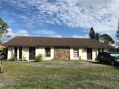 Fort Myers Multi Family Home For Sale: 7445 Mellon Rd