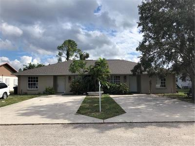 Fort Myers Multi Family Home Pending With Contingencies: 18243 Lowe Dr