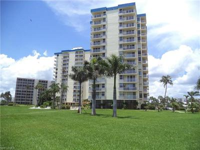 Fort Myers Beach Condo/Townhouse For Sale: 7360 Estero Blvd #C-1008