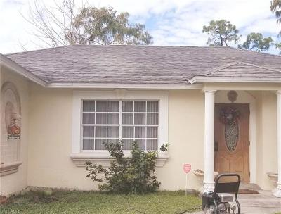 Naples Single Family Home Pending With Contingencies: 5333 Warren St
