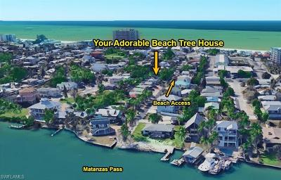 Fort Myers Beach Single Family Home For Sale: 216 Miramar St