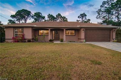Lehigh Acres Single Family Home For Sale: 1029 Hansen St E