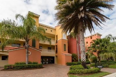 Estero Condo/Townhouse For Sale: 8597 Via Garibaldi Cir #304