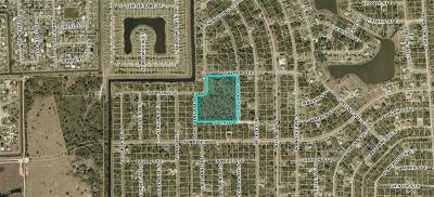 Lehigh Acres Residential Lots & Land For Sale: 732 Palmer St E