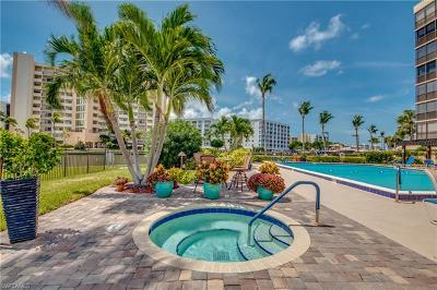 Fort Myers Beach Condo/Townhouse For Sale: 400 Lenell Rd #105